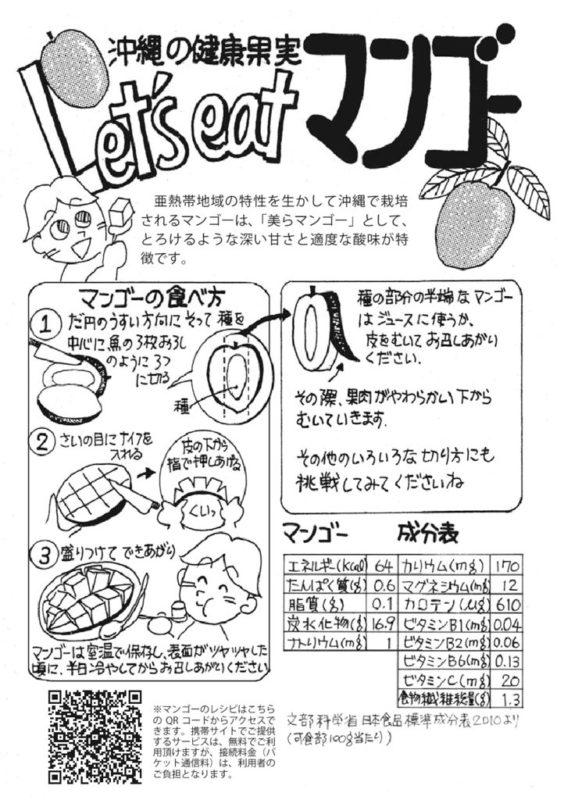 マンゴーレシピのサムネイル