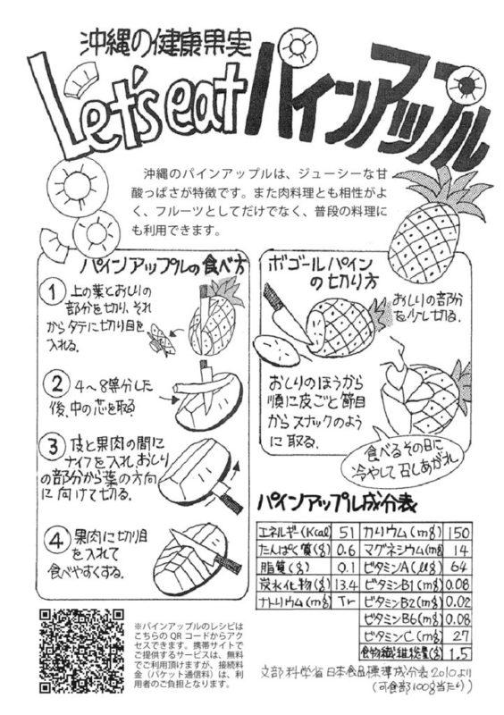 パインアップルレシピのサムネイル