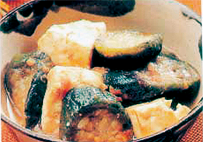 ナーベーラーンブシー(ナーベーラーのみそ煮)の写真