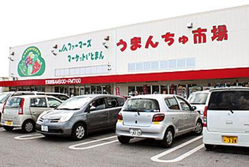 うまんちゅ市場の写真1