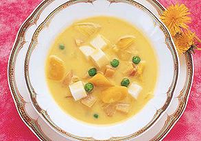山芋のカレークリーム煮の写真