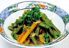 フーロー豆とツナのくったり煮の写真