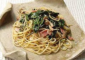 ウンチェーのペペロンチーノスパゲティー